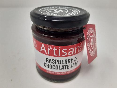 Artisan Raspberry Chocolate Jam  200g