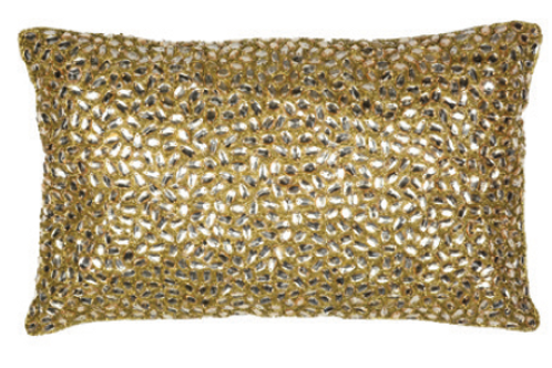 Aviva Stanoff Jewel in Gold Cushion
