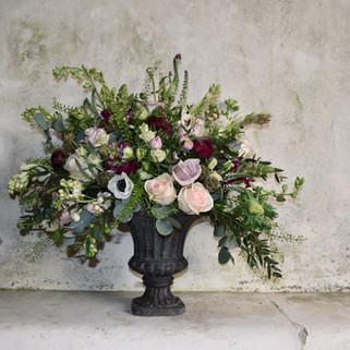 Caroline Clements wedding Flowers centre piece