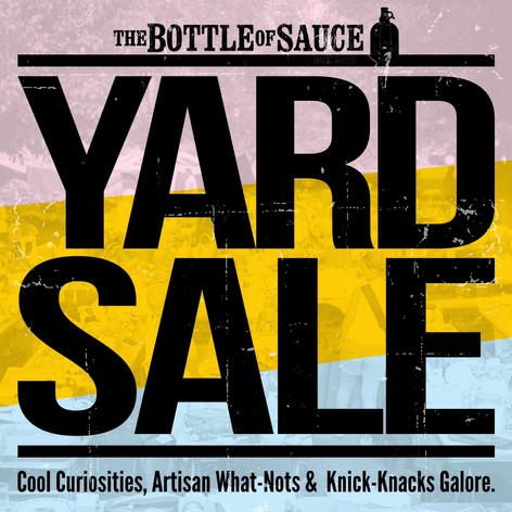 Bottle of Sauce Yard Sale