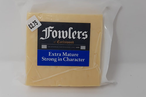 Fowlers Extra Mature Cheddar 200g