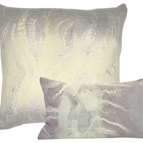 Aviva Stanoff Dove Grey Cushion