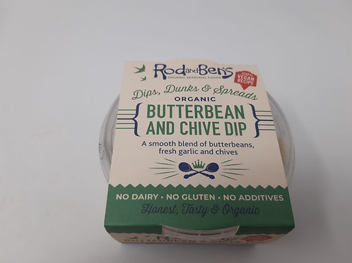 Rod & Ben's Butterbean and Chive Dip