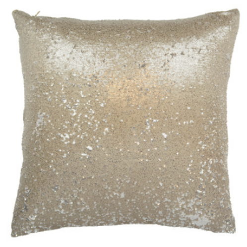 Sequin Gold Cushion