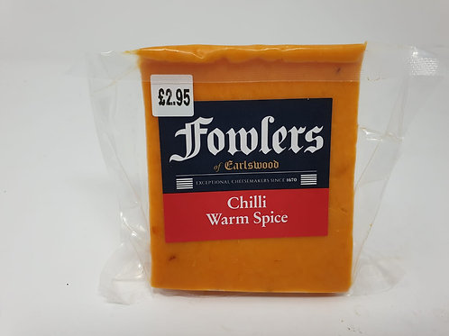 Fowlers Chilli Cheese 140g