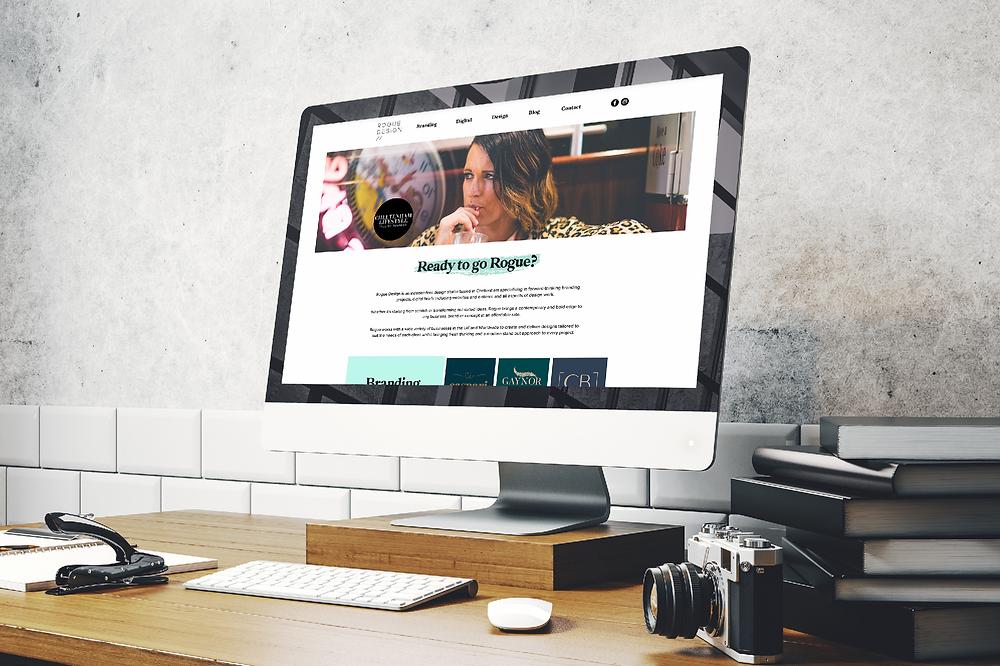 rogue design website office space