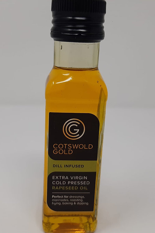Cotswold Gold Dill Infused Oil 100ml.
