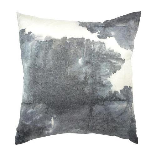 Aviva Stanoff Deep Charcoal Clouds Cushion