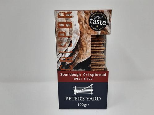 Peter's Yard Sourdough Crispbread - Spelt & Fig