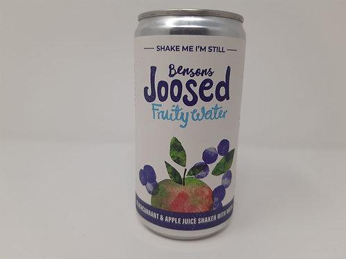 Bensons Joosed Fruit Water Blackcurrent & Apple 250ml