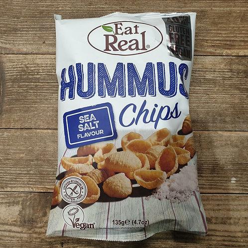Eat Real Hummus Chips Sea Salt 135g