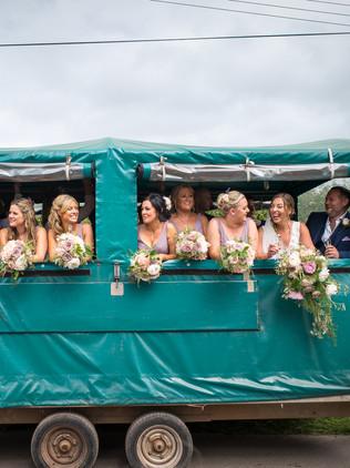 wedding party bus