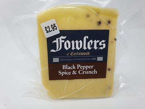 Fowlers Black Pepper Crunch 140g