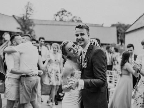 RG Artists bride and groom