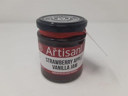 Artisan Kitchen Strawberry, Apple & Vanilla Jam 200g