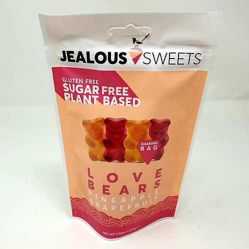 Jealous Sweets Pineapple & Grapefruit Gummy Bears 125g