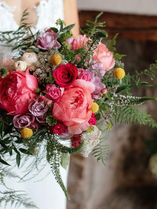 beautiful pink bouquet