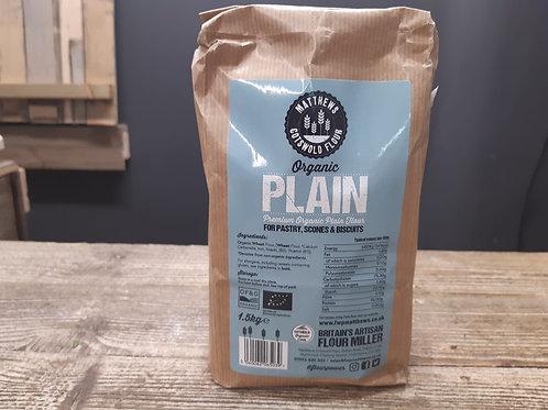 Cotswold Flour Organic Plain 1.5kg