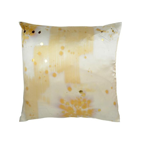 Aviva Stanoff Citrine Stardust with Gold Detail Cushion