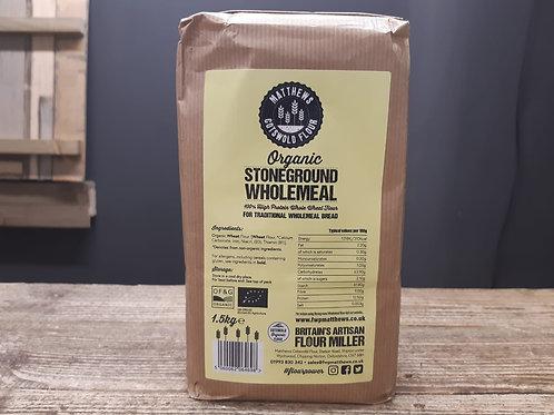 Cotswold Flour Organic Wholemeal 1.5kg