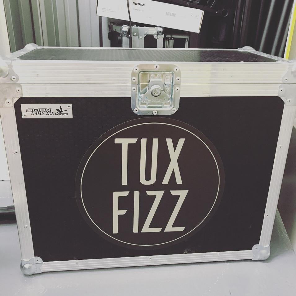 Tux Fizz Decal