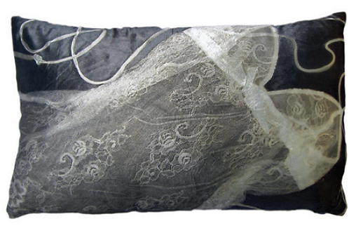 Aviva Stanoff Lingerie Cushion