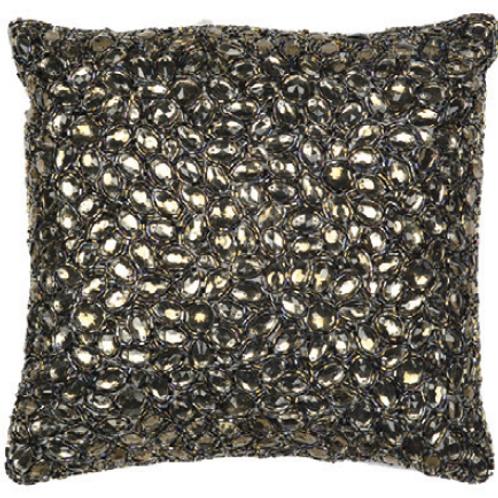 Aviva Stanoff Jewel in Smoke Cushion