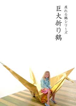 Giant paper crane