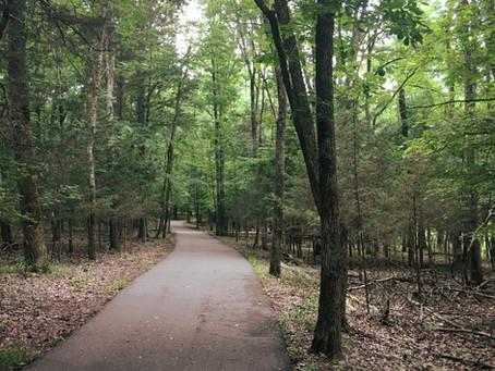 Hiking around Nashville: Long Hunter State Park