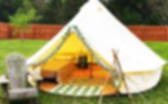 glamping tent rental Nashville