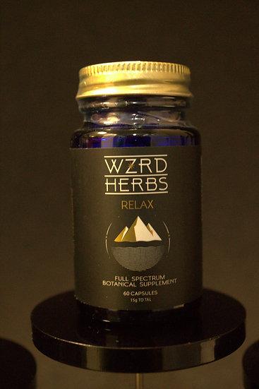 """Wizard Herbs """"Relax"""" Vegan Caps"""