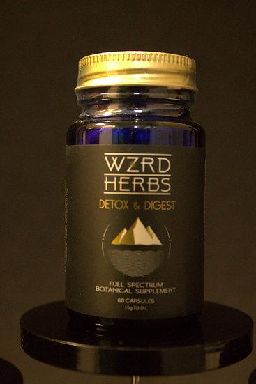 """Wizard Herbs """"Detox & Digest"""" Vegan Caps"""