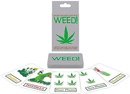 Weed Card Games