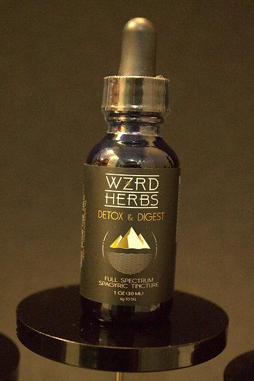 """Wizard Herbs """"Detox & Digest"""" Tincture"""