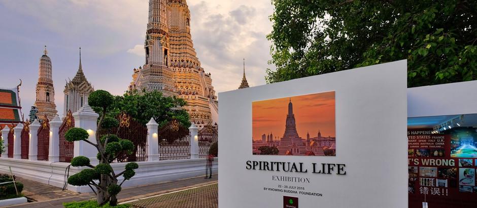 Spiritual life Exhibition at Wat Arun