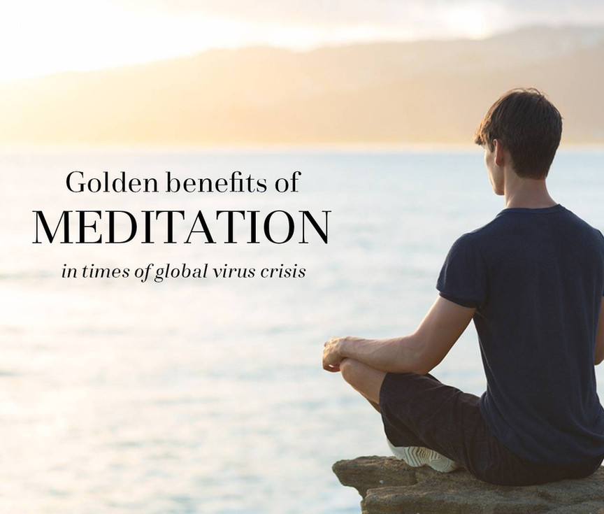 Turn a crisis into gold. How to meditate and why mindfulness can be your spiritual guidance.