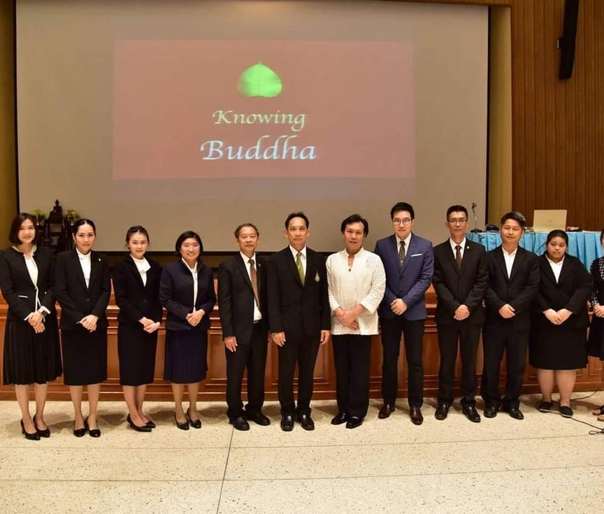 จัดธรรมบรรยายและการฝึกสมาธิมหาวิทยาลัยเทคโนโลยีราชมงคลธัญบุรี