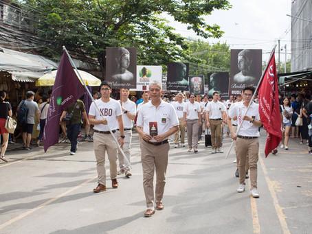 A Walk Campaign to Stop Disrespecting Buddha Images at Chatuchak Market