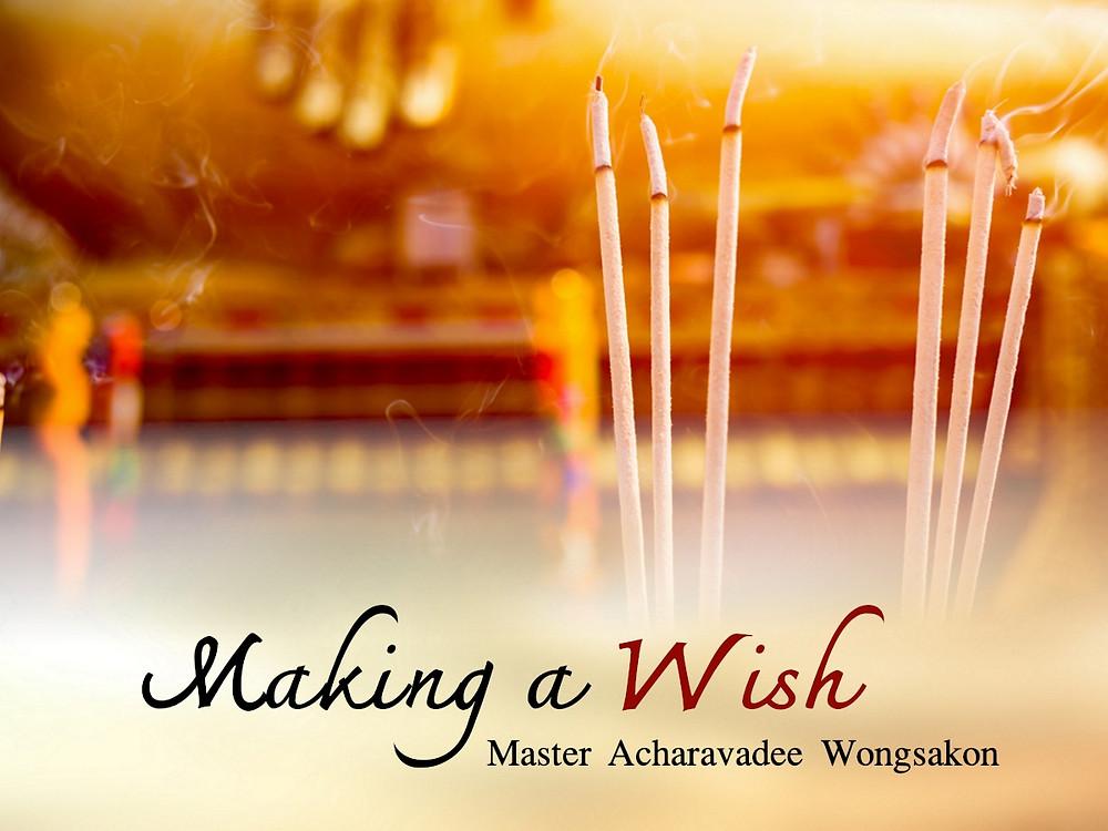 acharavadee_wongsakon_dhamma_teaching_make_wish