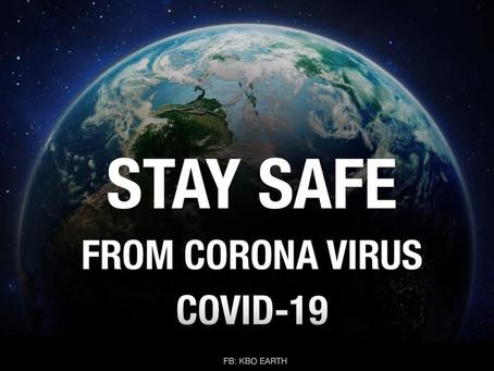 STAY SAFE FROM VIRUS CORONA COVID-19