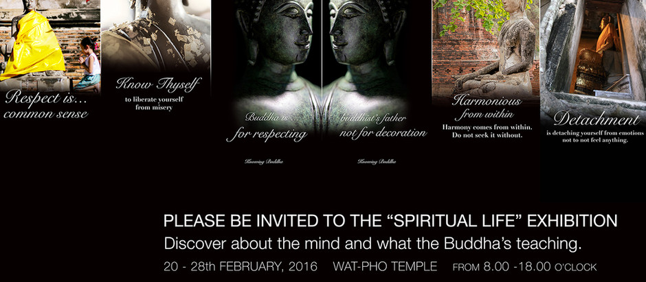 Modern Era BuddhistExhibitionis rising atWAT PHO