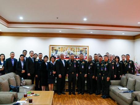 ทีมงาน KBO Earth ได้เดินทางไปที่กองบัญชาการกองทัพไทย