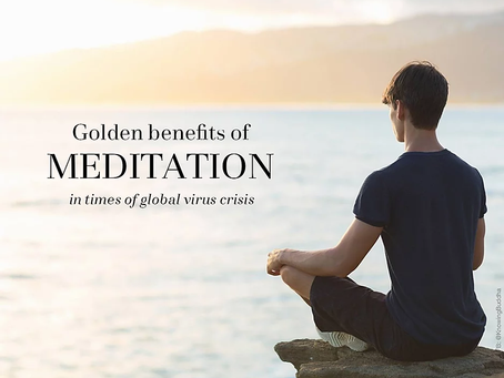 Turn a crisis into gold, self-isolation to inner peace.