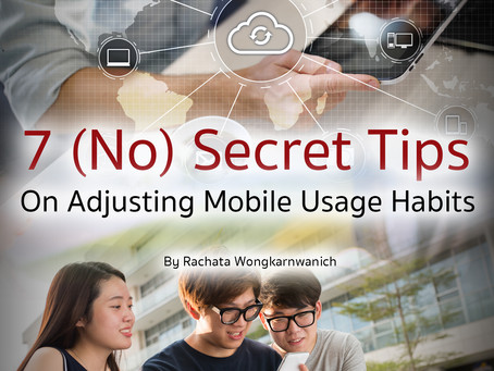 7 (no) secret tips on adjusting mobile usage habits