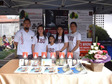 KBO gives correct knowledge on proper treatments to Buddha images at The Royal Thai Embassy, Canberr