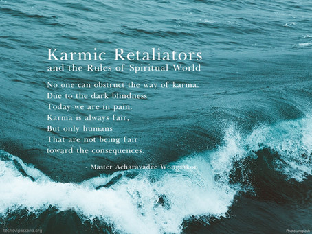 Karmic Retaliators and the Rules of Spiritual World