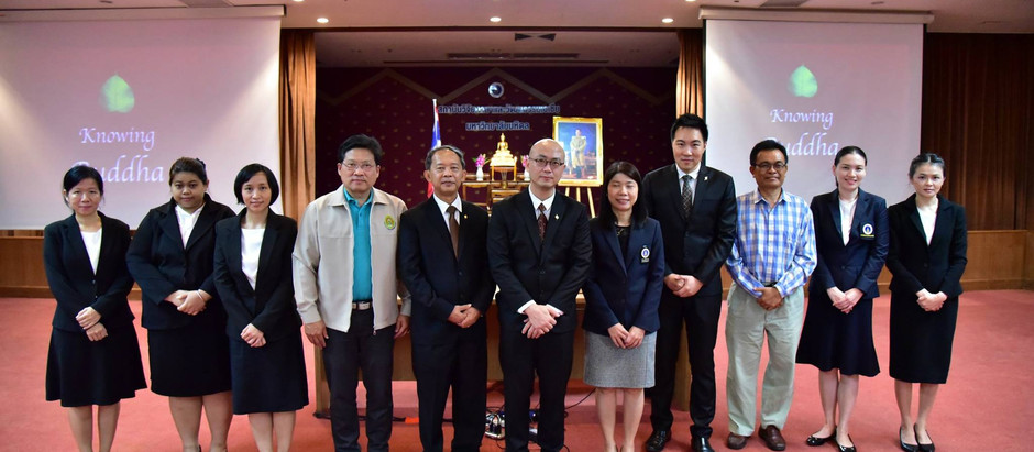 Special Moral Lecture to Foreign Students at Mahidol University