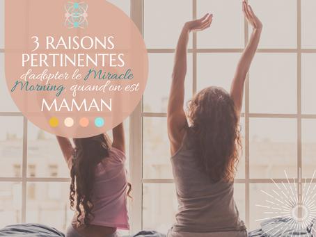 3 RAISONS PERTINENTES d'adopter le DECLIC MAM'ROUTINE quand on est Maman.
