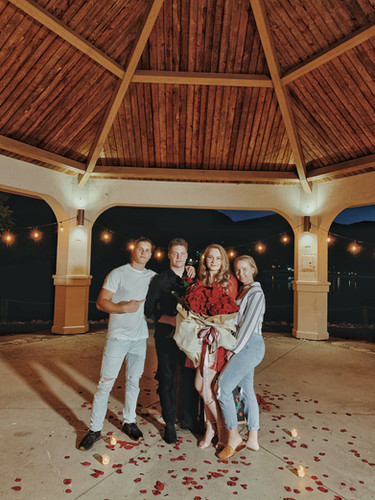 Angelina + Rostiks surprise proposal
