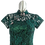 Thumbnail: Serene Jadeite Chantilly Lace Cheongsam Dress